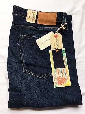 Levi's Made & Crafted Peg Slim Selvedge Jeans - NEW - 36/34