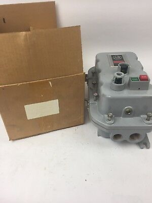 Allen Bradley 509-aexwd-1-4g Single Phase Magnetic Motor Controller Size 0