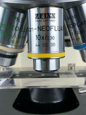 Zeiss Plan Neofluar 10x0.30 0.17 Microscope Objective Rms Threads 110 Refund