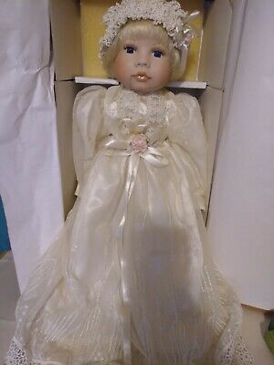 PARADISE GALLERIES BABY MELISSA PORCELAIN DOLL NEVER OUT OF BOX 18