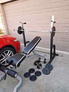 Force USA bench press + self standing squat rack Hillcrest Logan Area Preview