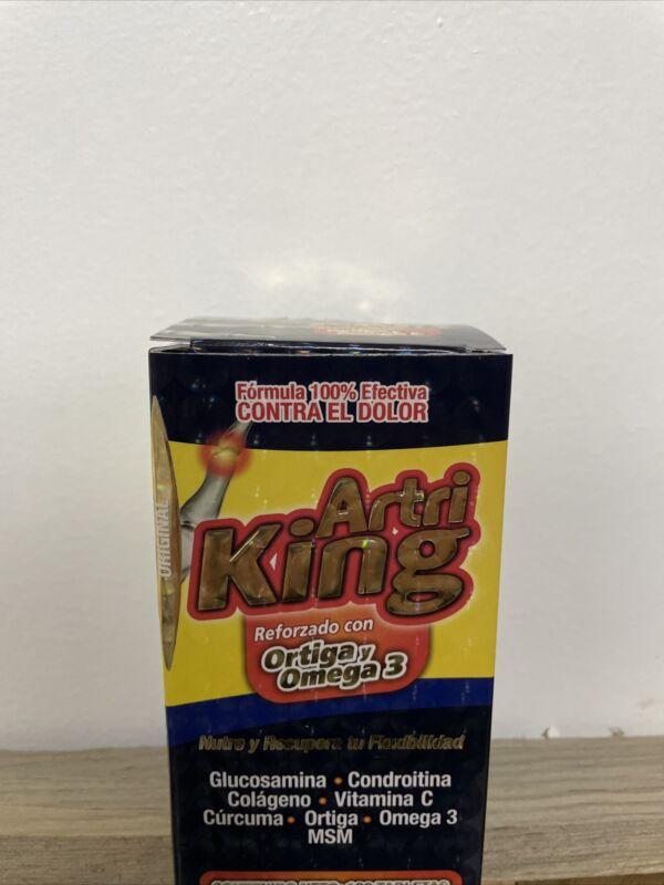 Artri King Ortiga & Omega 3 Para el Dolor /Joint Support Supplement 100 Tabletas