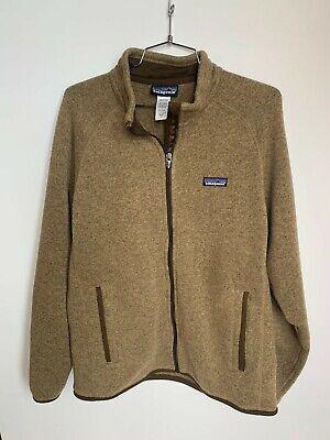 Patagonia Men's Better Sweater Full Zip Fleece Brown Medium M