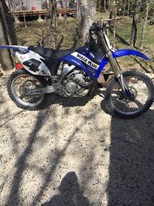 2007 Yamaha yz450f/250 parts