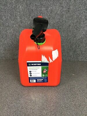 Scepter 5 Gallon Smartcontrol Gas Can Vent Controllable Flow Container M13e