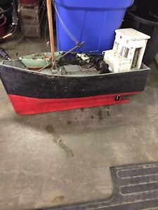 Wooden boat project  3 ft