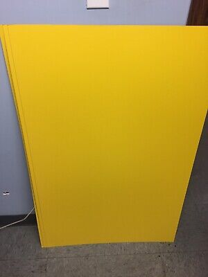 Crescent Poster Board, 14-ply, Oriental Yellow, 22x28, Qty 10 Sheets, #660 - Yellow Poster Board