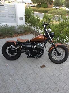 Custom Honda Rebel Bobber