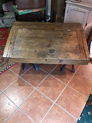 Vintage Pine Clerks Writing Desk