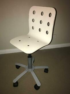 Desk Chair Childrens Ikea Jules White
