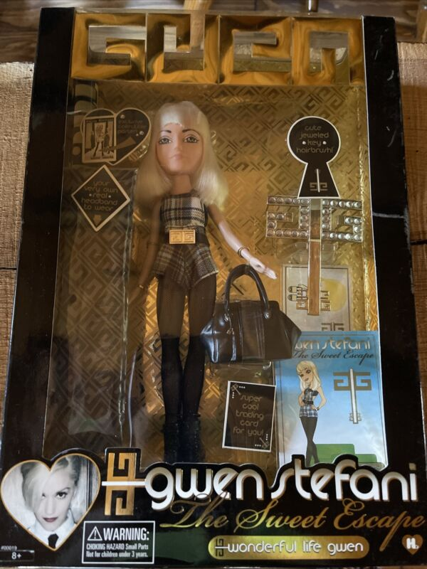 Gwen Stefani The Sweet Escape Doll Limited Edition Wonderful Life Harajuku 2007
