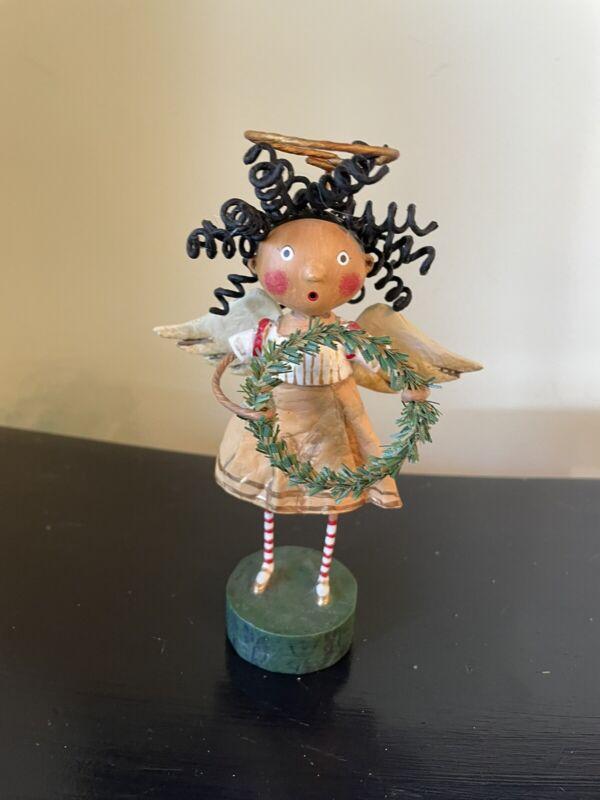 Lori Mitchell Figurine SEASONS GREETINGS ANGEL ***BRAND NEW***