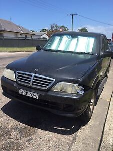 2006 ssangyong musso sports Belmont Lake Macquarie Area Preview
