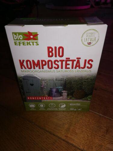 Organic natural compost starter, enough for 1 cub.m (35 cub.feet)