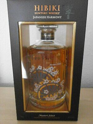 Hibiki Harmony Master's Select 0,7L 43%. Selten