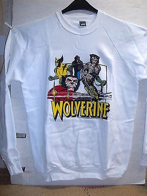 Vintage Sweat-Shirt: Wolverine (L) (USA, 1989)