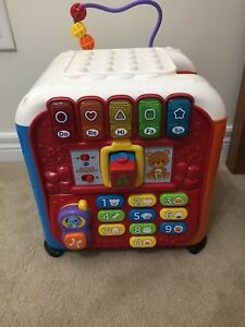 Vtech Alphabet activity cube - excellent condition