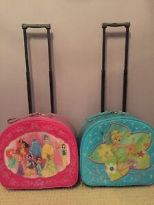 Disney Princess Tinkerbelle Luggage Suitcases