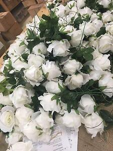 High quality artificial white roses - Rustic Country Wedding Dural Hornsby Area Preview