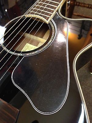 AEG10ii Pickguard 5-Ply Black Custom Acoustic for Ibanez Guitar Project NEW segunda mano  Embacar hacia Argentina