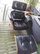 Replica Eames Lounge Chair and Ottoman. Crangan Bay Wyong Area Preview