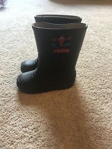 Rubber boots, size 13