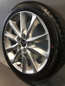 """MAZDA 3 SP25 MY18 18"""" GENUINE ALLOY WHEELS AND TYRES Carramar Fairfield Area Preview"""