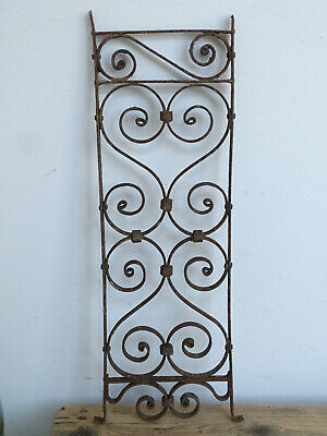 T9765 Window Bars ~ Balkongitter~Trellis~Art Nouveau Fence Element Grid