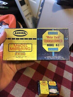 Aurora # 1510 Motor Pack Transformer A-1 ~ Boxed