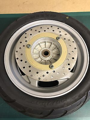 Italjet Jupiter 125/250 Rear wheel Complete with Maxxis 130/70-12 Tyre