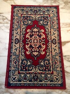 SMALL RED FLOOR RUG Narwee Canterbury Area Preview