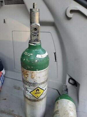 Tc-3alm 153 Dot-3al2216 Empty Medical Oxygen Aluminum Cylinder Tank 12 X 3.25