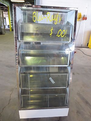 Blue Ray Glass Display Case