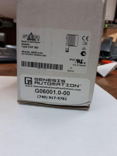 STEGO CSF060  PTC Enclosure Heater w/ Thermostat, 120-240V  150W