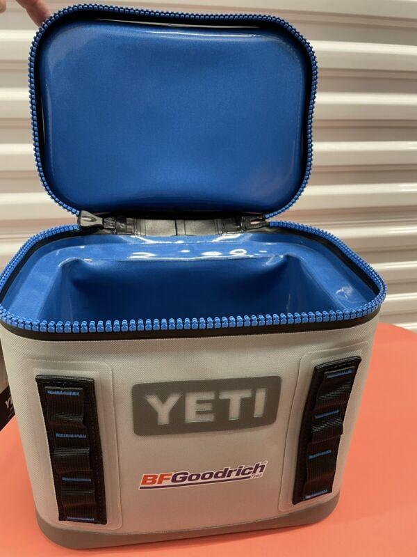 Yeti Hopper Flip 8 Soft Cooler -FOG GREY Tahoe Blue Discontinued NEW IN BOX