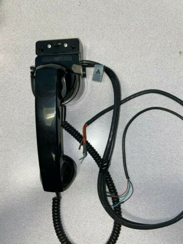 Motorola Radio Privacy Handset w/ hang up cradle