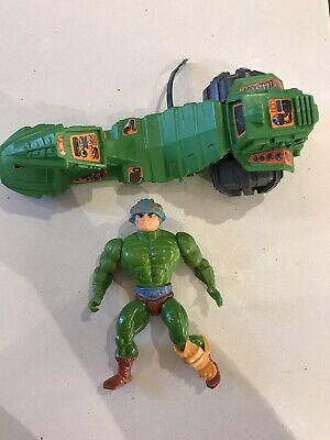 Vintage  Mattel MOTU - Man-At-Arms Near Complete With Road Ripper