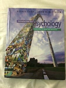 Introduction to Psychology: Gateways to Mind and Behaviour