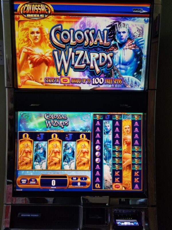 WMS COLOSSAL WIZARDS BB1.5 BB2 DONGLE SLOT GAME SOFTWARE ONLY WILLIAMS BLUEBIRD