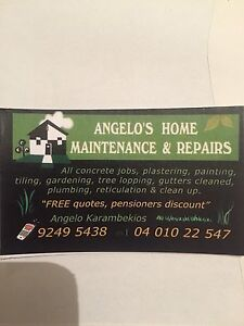 Angelos home maintenance and repairs Mirrabooka Stirling Area Preview