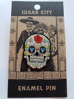 Sugar City's Day of the Dead Dia de Muertos Halloween Enamel Lapel Pin #13B - 13 Dias De Halloween