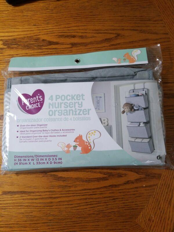 Parents Choice 4 Pocket Nursery Organizer