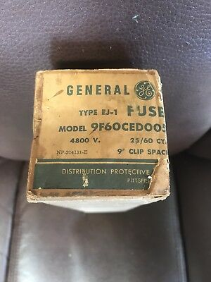 General Electric, 9F60CED005, Current Limiting Fuse, NIB