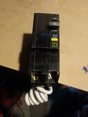 Circuit Breaker Square D. 40a 10ka240v D Qo240 2 Pole