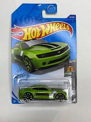 Hot Wheels 2020 2013 Chevy Camaro Special Edition TH Treasure Hunt Green New HTF