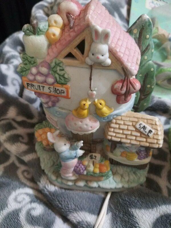 Easter village set