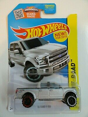 2015 Hot Wheels #119 '15 Ford F-150 (Silver)