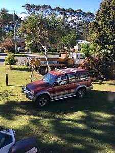 Pajero 4x4 on gas an fuel Chinderah Tweed Heads Area Preview