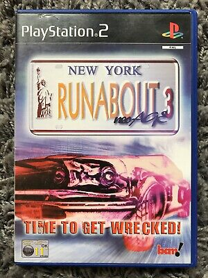 Runabout 3 Neo Age, Sony PlayStation 2 Game, Trusted Ebay Shop