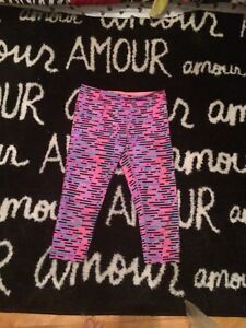 Ivivva bright and colourful capris